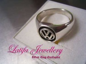 cincin logo vw cincin logo perusahaan cincin logo emas putih bikin buat produksi jual murah almamater