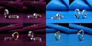 Cincin nikah kawin tunangan couple Bontang custom pin emas perak palladium platinum platina silver Jual Beli bikin cincin murah (2)