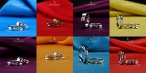 Cincin nikah kawin tunangan couple Bontang custom pin emas perak palladium platinum platina silver Jual Beli bikin cincin murah (4)