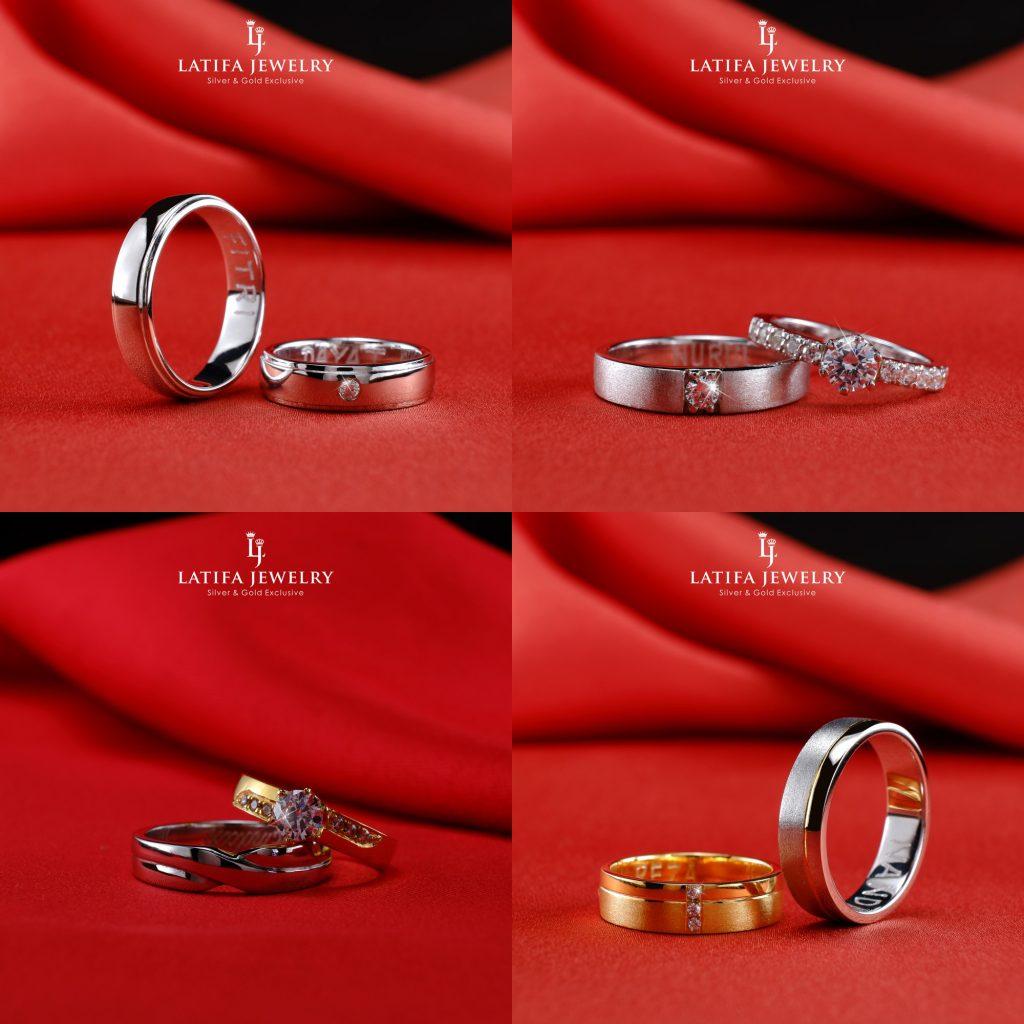 Cincin nikah kawin tunangan couple Bontang custom pin emas perak palladium platinum platina silver Jual Beli bikin cincin murah bagus (2)