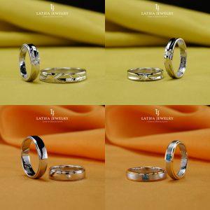 Cincin nikah kawin tunangan couple Bontang custom pin emas perak palladium platinum platina silver Jual Beli bikin cincin murah bagus (3)