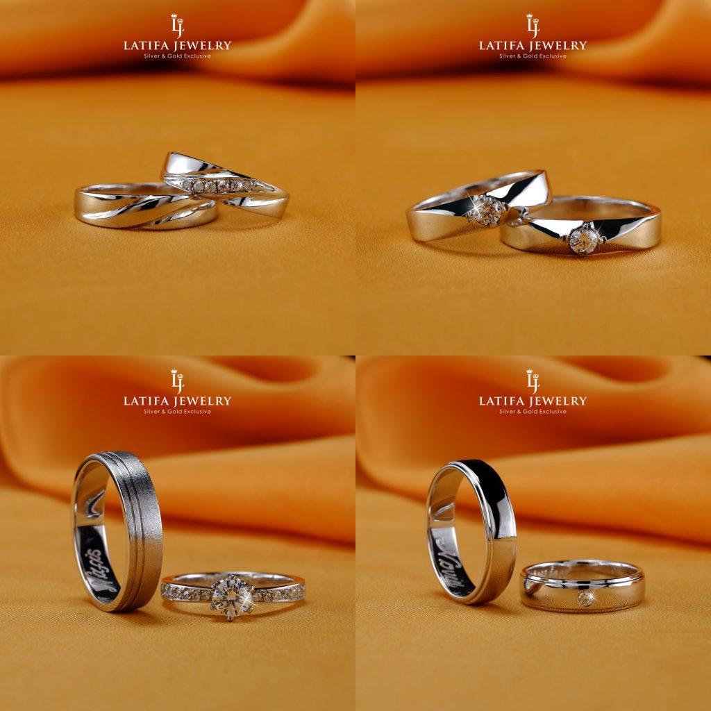 Cincin nikah kawin tunangan couple Bontang custom pin emas perak palladium platinum platina silver Jual Beli bikin cincin murah bagus (4)