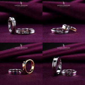 Cincin nikah kawin tunangan couple Bontang custom pin emas perak palladium platinum platina silver Jual Beli bikin cincin murah bagus (5)
