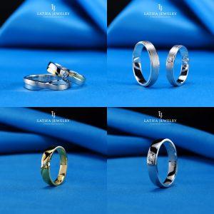 Cincin nikah kawin tunangan couple Bontang custom pin emas perak palladium platinum platina silver Jual Beli bikin cincin murah bagus (6)