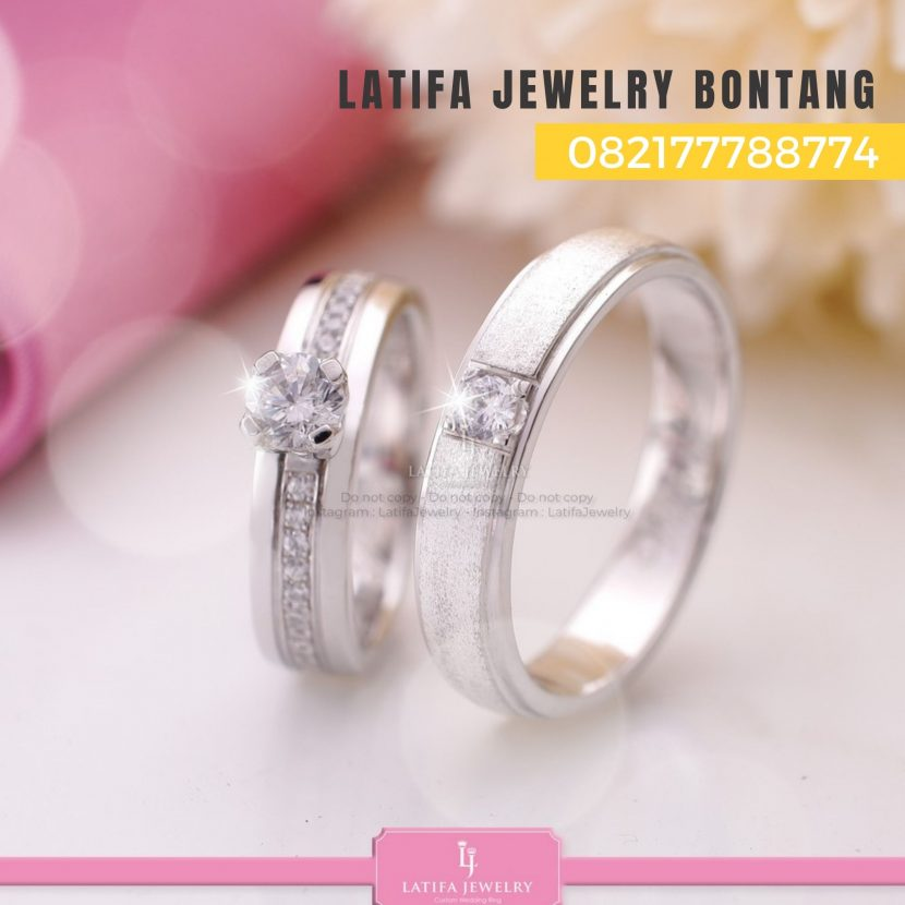 Toko jual beli cincin nikah kawin tunangan couple custom emas palladium perak platinum bontang murah (2)