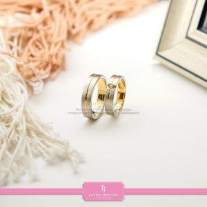 cincin nikah Bontang kawin tunangan couple custom emas perak silver palladium platinum platina jual beli bikin model desain pin murah (2)