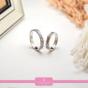 cincin nikah Bontang kawin tunangan couple custom emas perak silver palladium platinum platina jual beli bikin model desain pin murah (3)