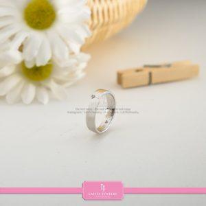 cincin nikah Bontang kawin tunangan couple custom emas perak silver palladium platinum platina jual beli bikin model desain pin murah (5)