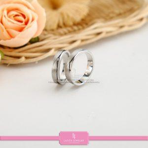 cincin nikah Bontang kawin tunangan couple custom emas perak silver palladium platinum platina jual beli bikin model desain pin murah (8)
