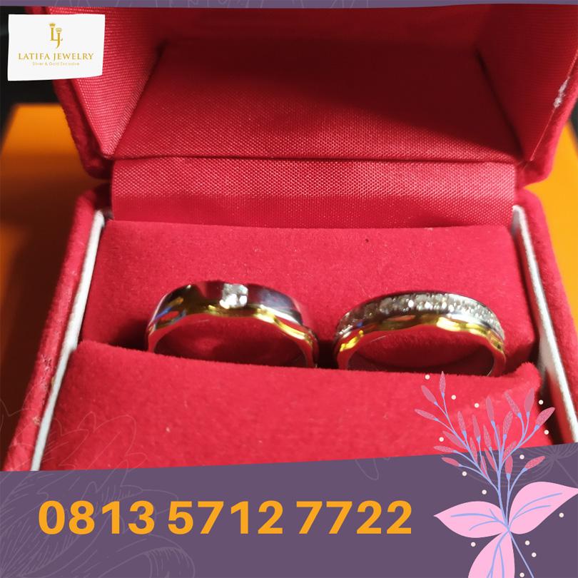 cincin nikah surabaya tunangan kawin couple custom emas palladium perak platinum murah (1)