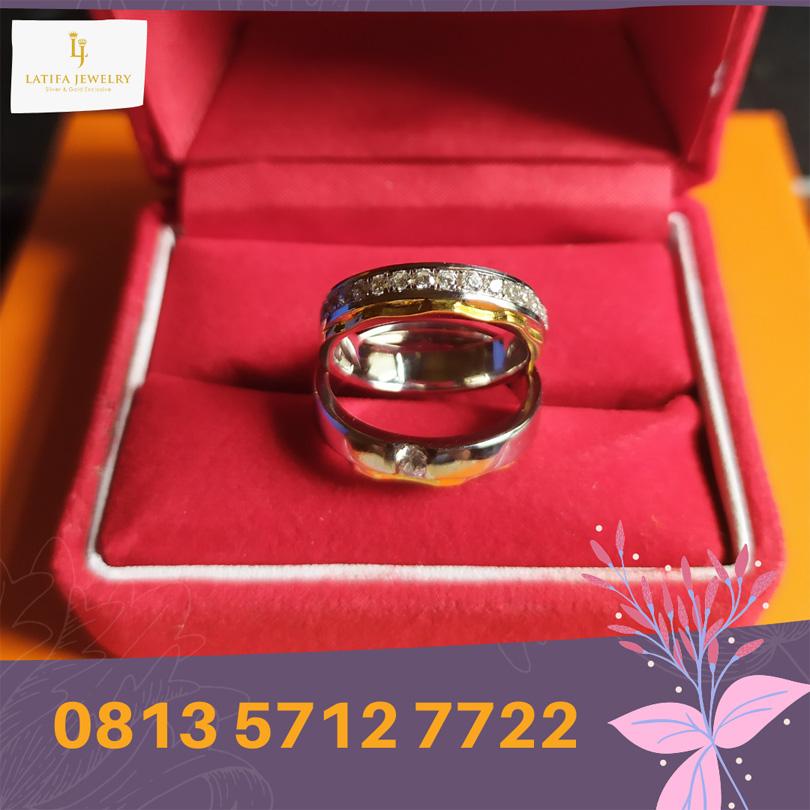 cincin nikah surabaya tunangan kawin couple custom emas palladium perak platinum murah (2)