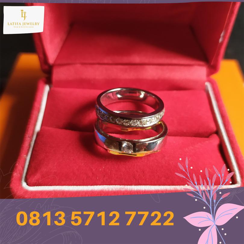 cincin nikah surabaya tunangan kawin couple custom emas palladium perak platinum murah (3)