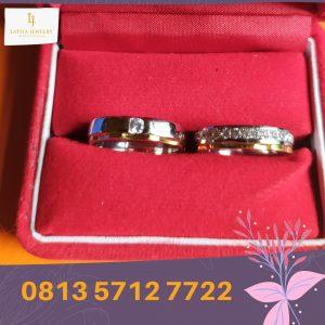cincin nikah surabaya tunangan kawin couple custom emas palladium perak platinum murah (4)
